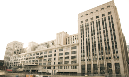 In ten years the old Chicago Main Post Office building might be occupied again.