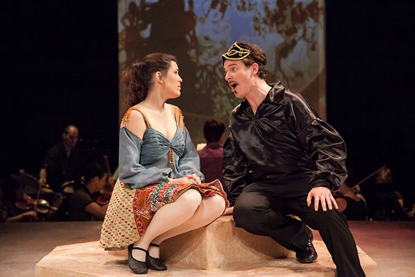 Chicago Folks Operetta's 2012 staging of The Circus Princess, by Hungarian composer Emmerich Kalman