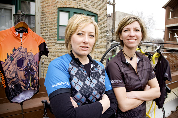Michelle Hierzer and Sherry Keating of Crank the Earth