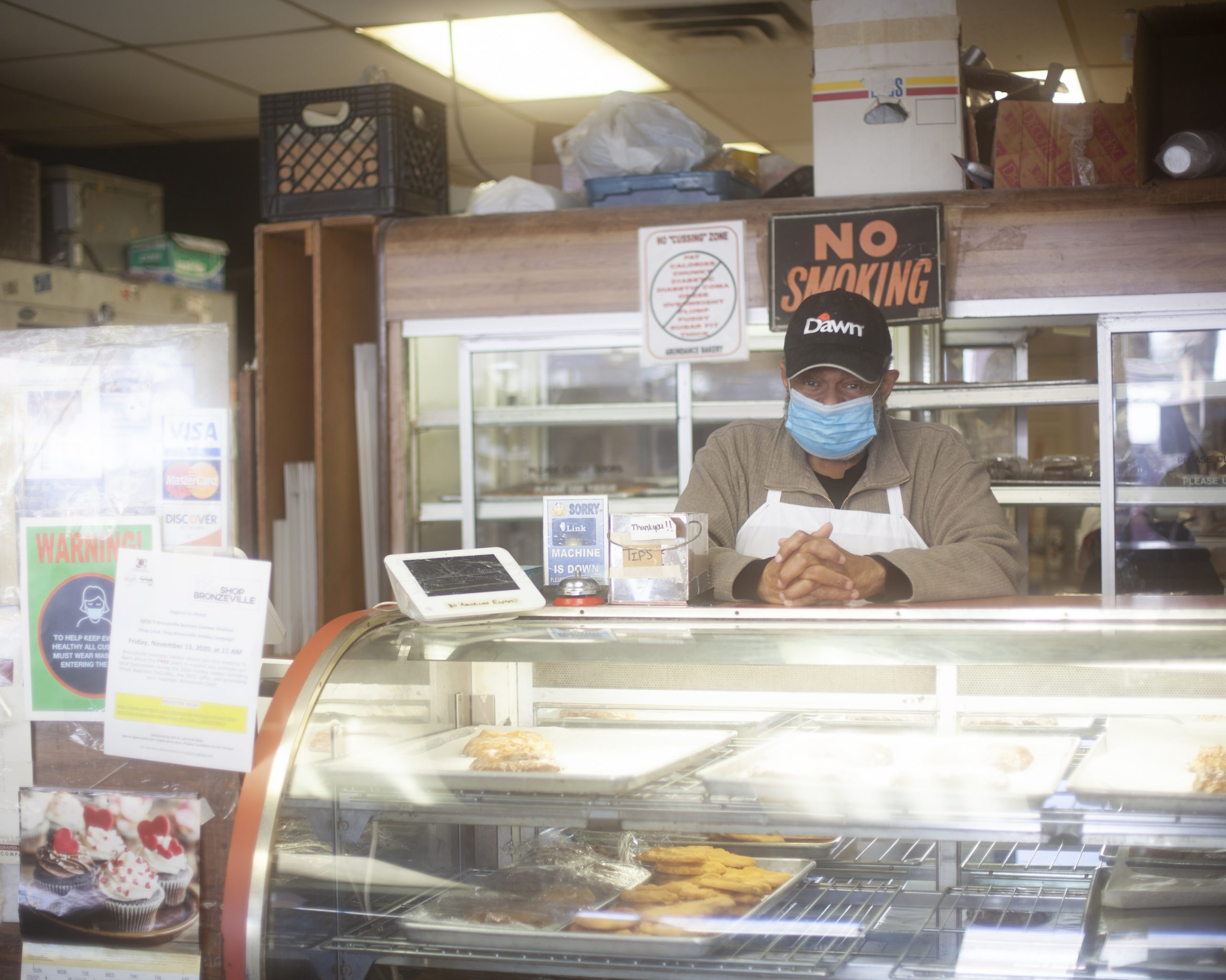 Owner of Abundance Bakery Bill Ball continues to keep his business alive while trying to navigate the maze of requesting PPP loans and other recovery grants.
