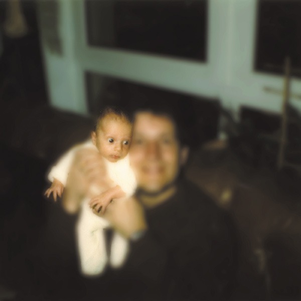 Baby Paul and His Dad by Pamela Bannos