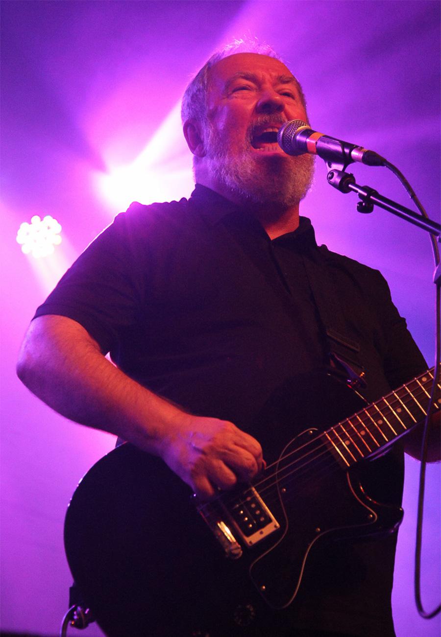Pete Shelley in 2014