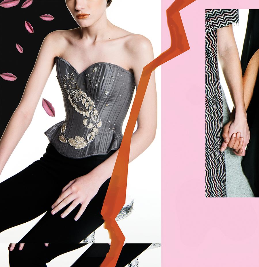 Gerry Quinton's label, Morua, produces corsets.
