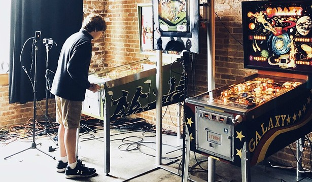 The Bottom Lounge recently hosted a pinball championship.
