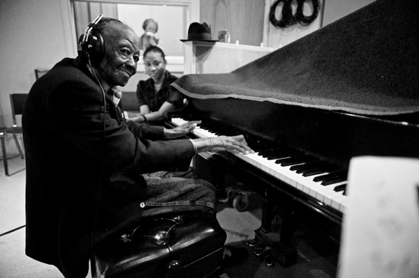 Legendary bluesman Pinetop Perkins died March 21 at age 97. One month earlier, he won a Grammy.