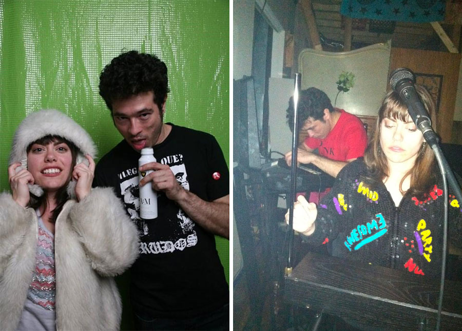 Piss Piss Piss Moan Moan in 2011 (left) and 2012