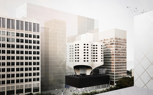 Cyril Marsollier's and Wallo Villacorta's blue-ribbon proposal for a remodeled Prentice