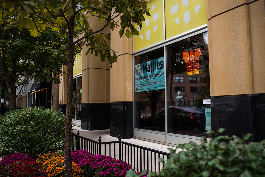 Jerry Butler's Songwriters Workshop used to meet at 1402 S. Michigan, a spot now occupied by Chicago Waffles.