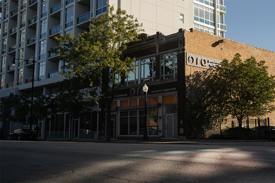 The former site of One-derful Records at 1827 S. Michigan is now home to a dental clinic.