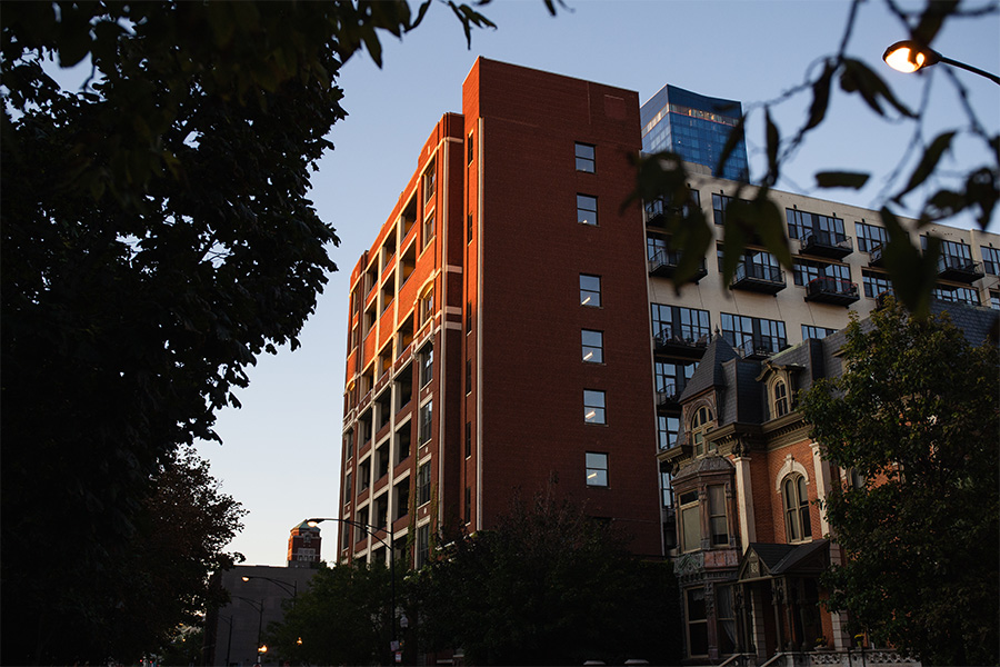 Chess Records' final location, at 320 E. 21st, is now Chess Lofts.