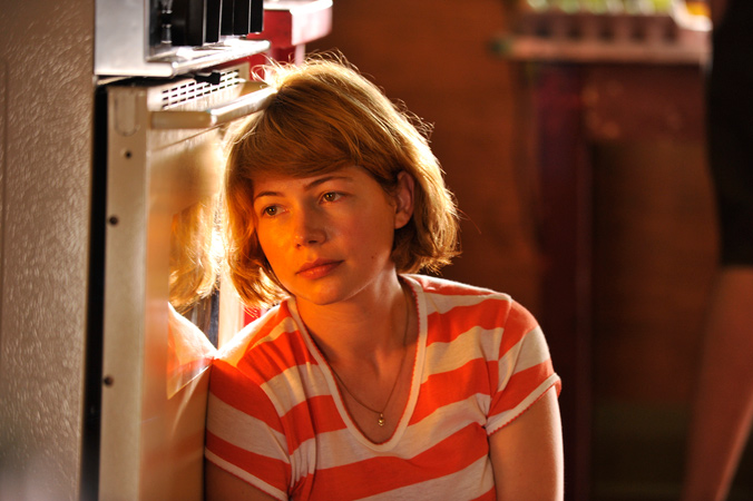 There's an uncertain future for Margot (Michelle Williams) in Take This Waltz