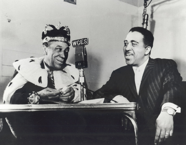 Deejay Richard Stamz and Ernie Leaner