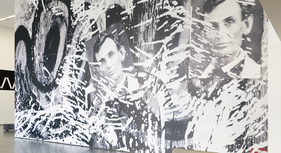 """Work by Joyce Pensato is on display as part of """"Riot Grrrls"""" at the MCA."""