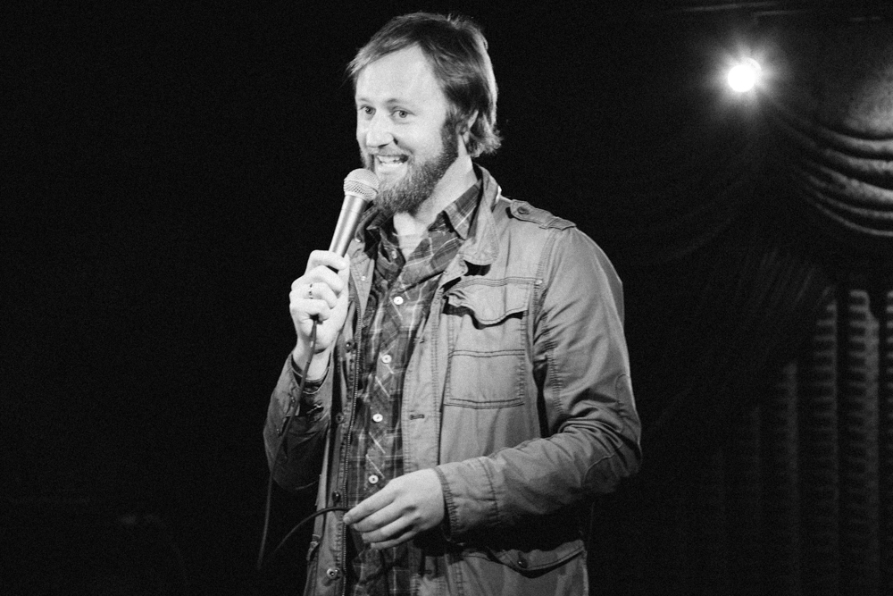 Rory Scovel stops by UP Comedy Club this weekend.