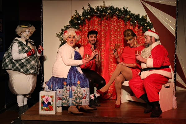 Hell in a Handbag Productions' <i>Rudolph the Red-Hosed Reindeer</i>