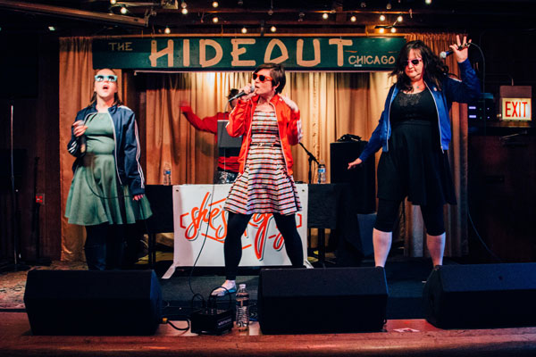 She's Crafty plays the Sadie Hawkin's Dance at the Hideout on Sun 4/24.