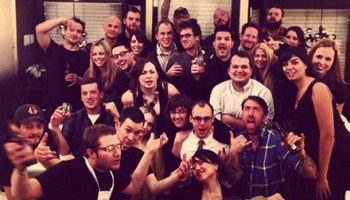 The time I crashed a private dinner at Schwa honoring the drummer for Anthrax
