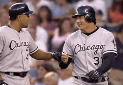 Yes, Jose Canseco was once with the White Sox too.