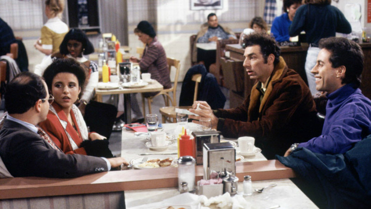Show off your Seinfeld factoids, beyond the name of this diner, at Seinfeld Trivia Night Sunday 8/12.