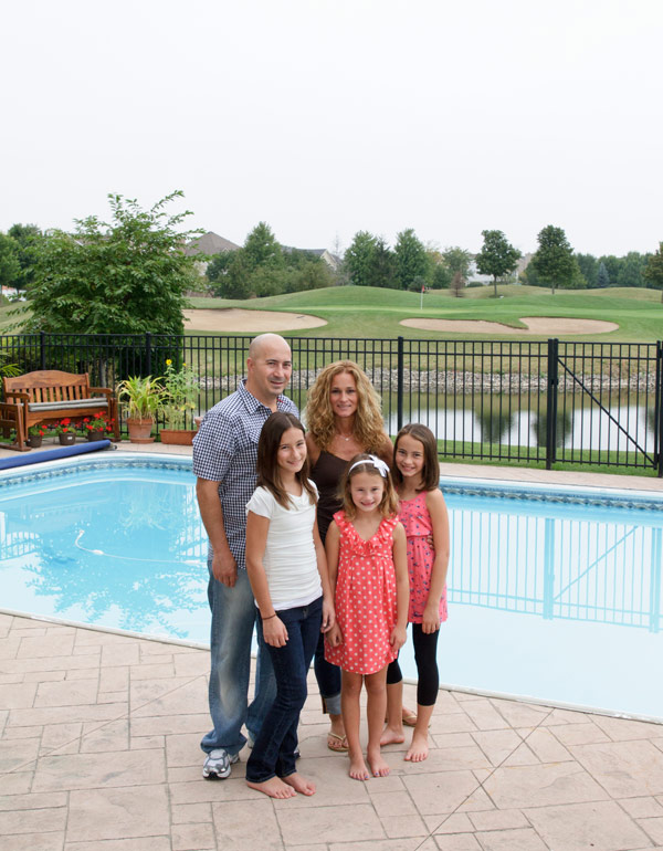 The Serras left their beloved home in North Park on Chicago's north side for the suburb of Vernon Hills, 30 miles away, to give their three daughters equal chances for success.