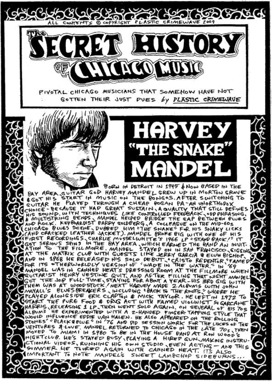 This Secret History of Chicago Music strip originally ran in 2009.