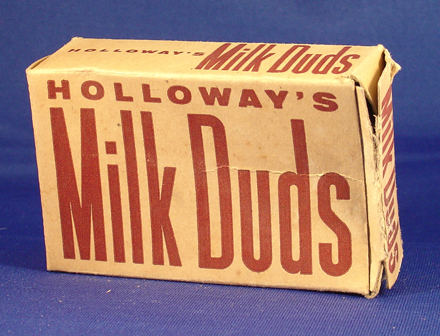 A mysterious and ancient Milk Duds Box