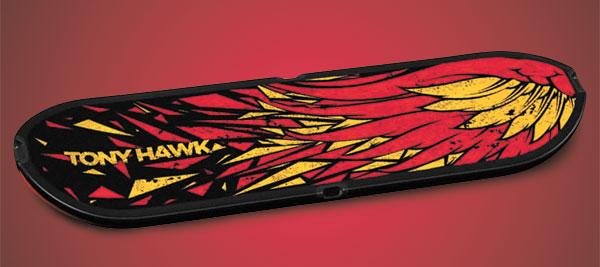 The skateboard controller for Tony Hawk: Shred