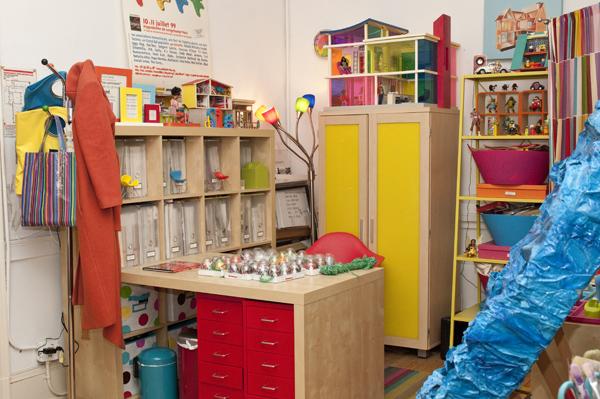 Tiffany's studio