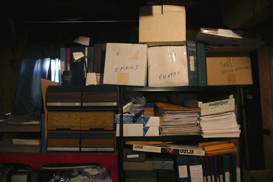 Files related to past paranormal investigations