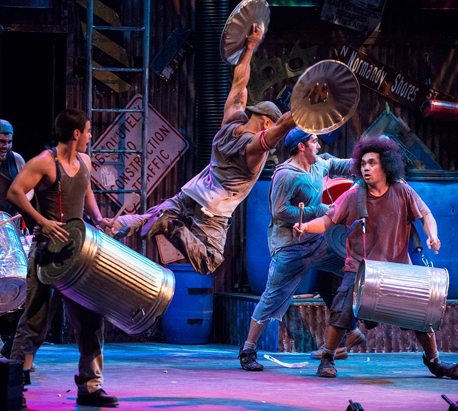 <i>Stomp</i>, at Broadway Playhouse