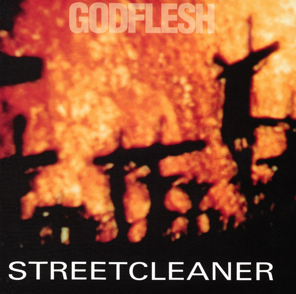 """Godflesh's first full-length album, <em>Streetcleaner</em>, came out in 1989. The cover image is from one of the hallucination scenes in the <a href=""""/chicago/altered-states/Film?oid=1051539"""">1980 film <em>Altered States</em></a>."""