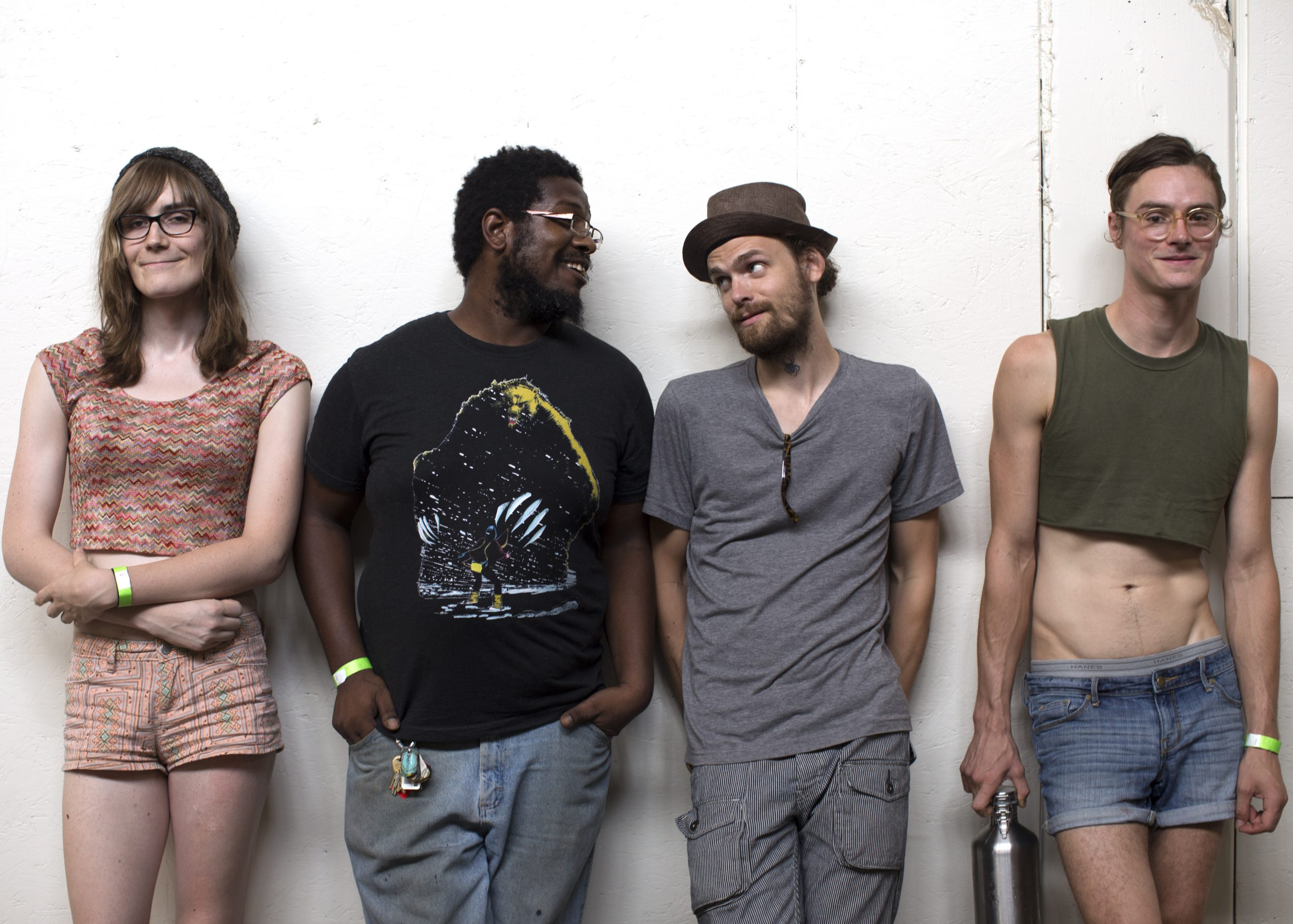 Marvin the Robot: Brooklyn Ludlow, Miles Curtiss, Darren, and Miah Brightland