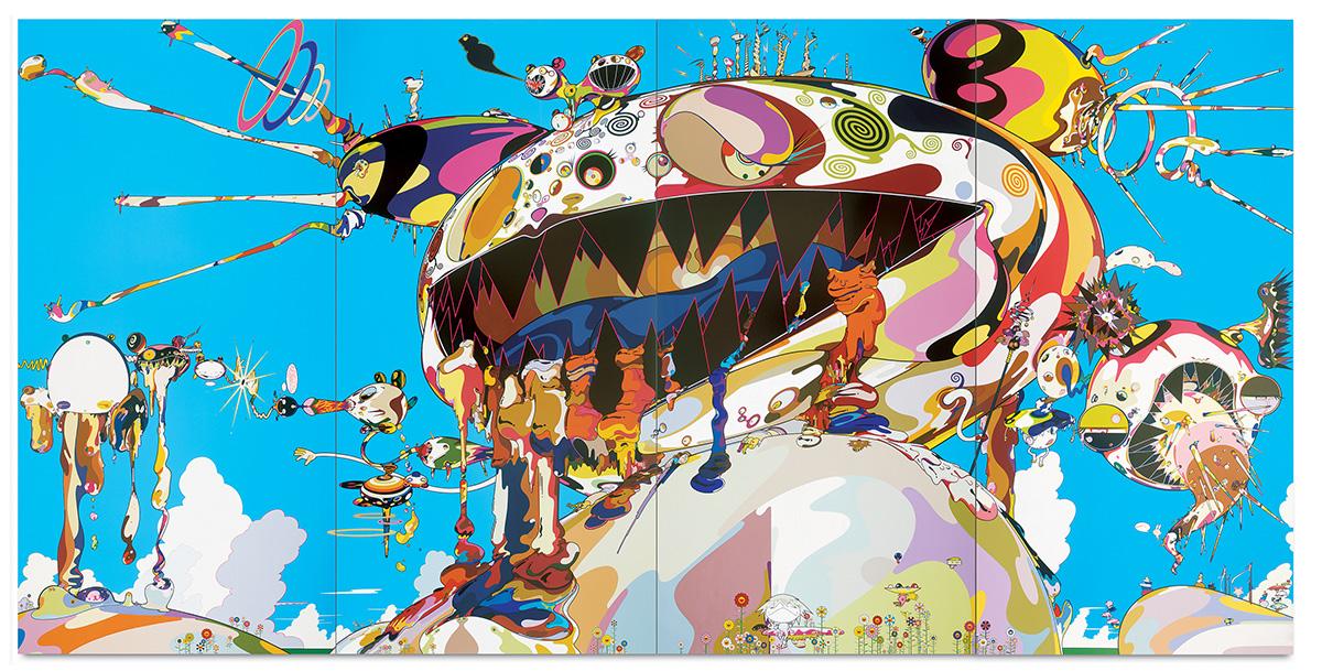 Takashi Murakami, <i>Tan Tan Bo Puking—aka Gero Tan</i>, 2002