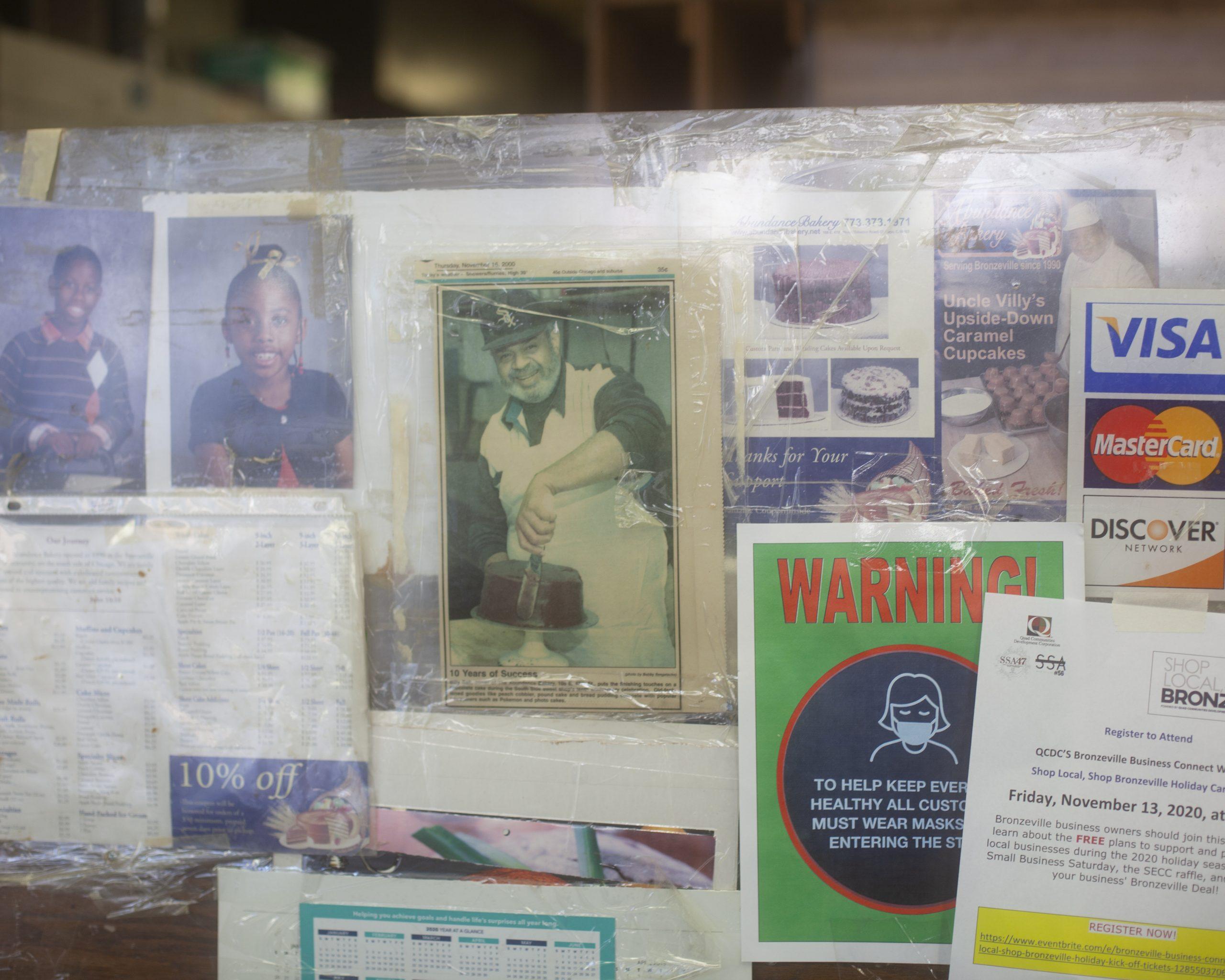 Bill Ball has been running Abundance Bakery in Bronzeville for 30 years.