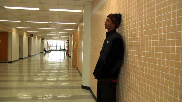 Anthony, a homeless Chicago teen