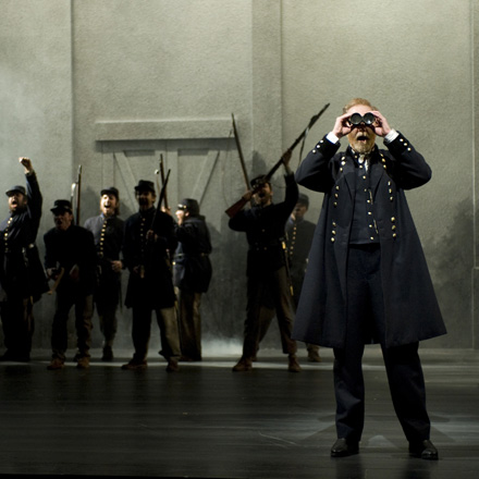 The March at Steppenwolf: His truth goes marching on.
