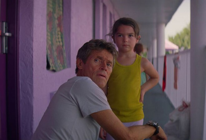 Willem Dafoe in <i>The Florida Project</i>