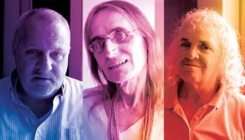 Three of Town Hall's inaugural residents: Christian Halvorsen, Eva Skye, and Pat Cummings