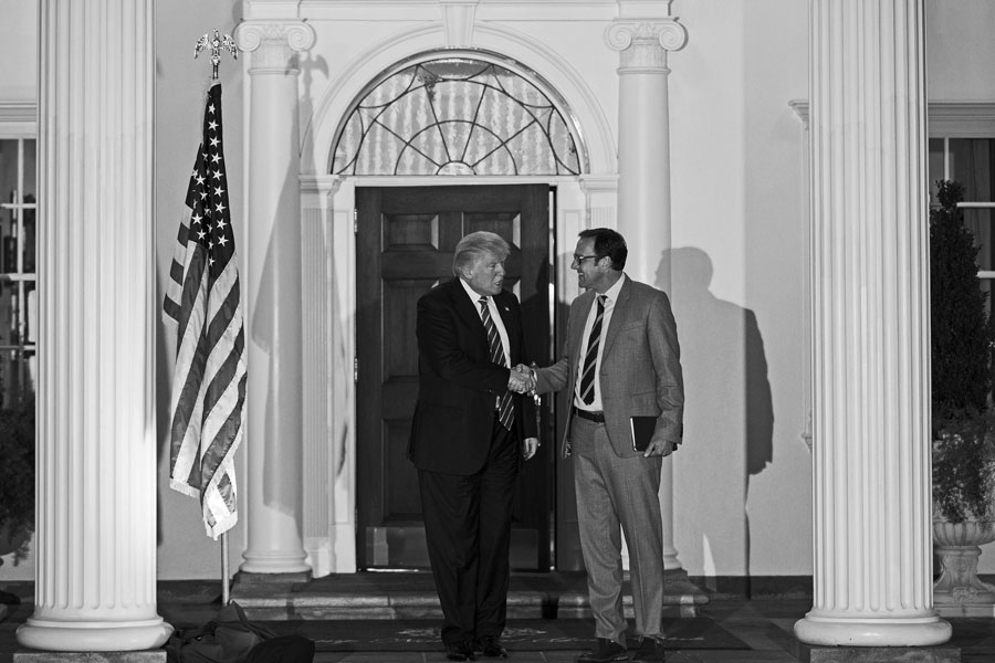 President Donald Trump selected Todd Ricketts to serve in his cabinet as deputy commerce secretary. Ricketts ran the pro-Trump super PAC Future 45 and his father, Joe Ricketts, donated $1 million to it.