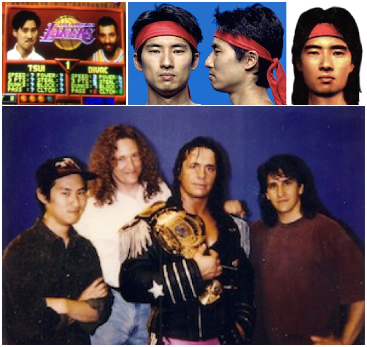 Tsui appeared in NBA Jam and Mortal Kombat and filmed WWF wrestlers in the making of <i>Wrestlemania: The Arcade Game</i>