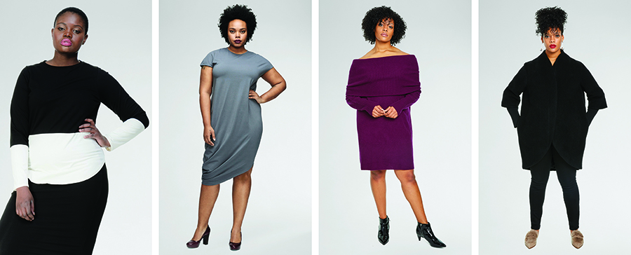 Universal Standard makes clothes that are flattering and elegant, but most importantly, in sizes that have been traditionally ignored by most designers.