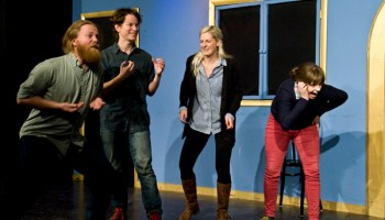 Dead$$$, the Upstairs Gallery's house improv team