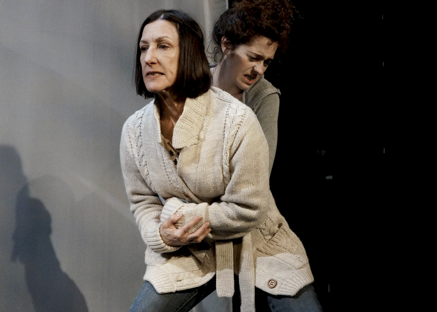 Julie Proudfoot and Sarah Wisterman in Artemisia's <i>Visiting</i>