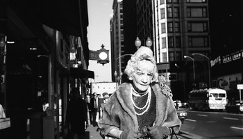 Woman with Pearls, Chicago, IL, 1967