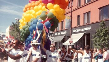 Chicago Pride Parade circa 1990.