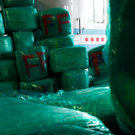 On June 28, the day after the City Council voted to lessen pot possession penalties, law enforcement agents held a press conference to announce the interception of eight tons of weed.