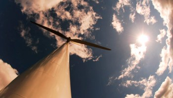 A still from Laura Israel's documentary <i>Windfall</i>