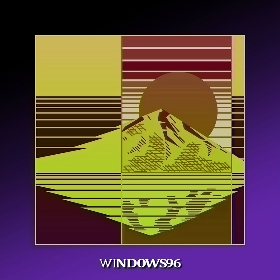 The cover of <i>One Hundred Mornings</i> byWindows96