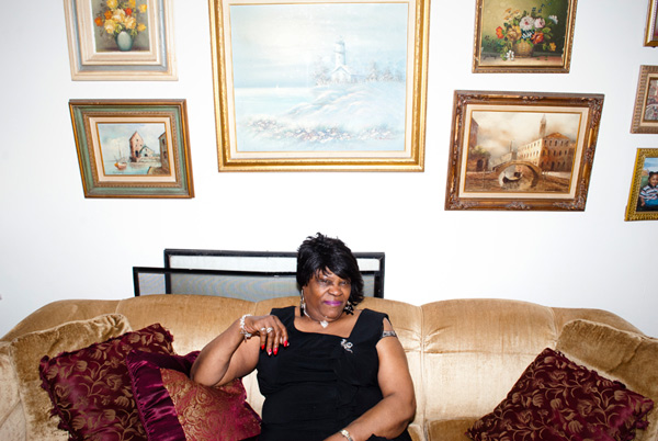 """Zeola Horton moved into her home on North Monticello in 1970. """"The neighborhood was nice,"""" she says. Then the gangs and drugs moved in."""