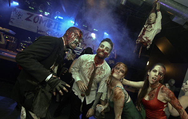 The dancing undead rule Zombie Prom on Sat 5/21.